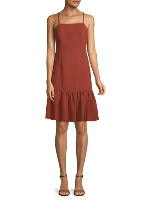 Miija Ruffled Sleeveless Dress by Club Monaco
