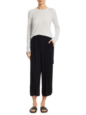 Belted Culottes by Vince