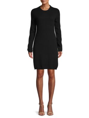 Cashmere Shift Sweater Dress by Cashmere Saks Fifth Avenue