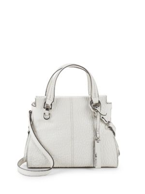 Riley Small Leather Shoulder Bag by Vince Camuto