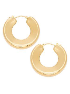Bold 14 K Yellow Gold Huggie Earrings by Sphera Milano