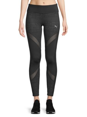 Clash Mesh Tights by Puma