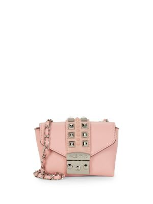 Paulette Studded Leather Mini Bag by Valentino By Mario Valentino
