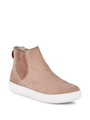 Clovis Slip On High Top Sneakers by Steven By Steve Madden