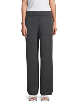 Wide Leg Cashmere Pants by Cashmere Saks Fifth Avenue