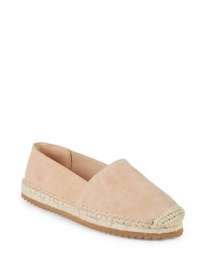 Suede Slip On Espadrilles by Karl Lagerfeld Paris