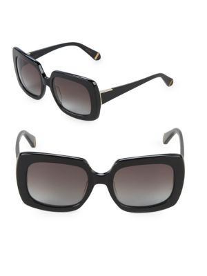 Mounia 55 Mm Square Sunglasses by Zac Posen
