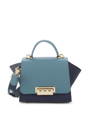 Eartha Leather Satchel by Zac Zac Posen