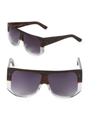 Frequent Flyer 58 Mm Square Sunglasses by Hadid