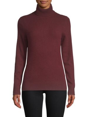 Turtleneck Cashmere Sweater by Cashmere Saks Fifth Avenue