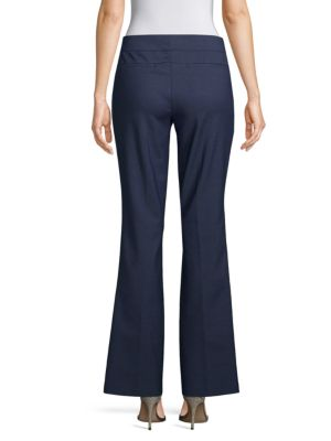 5th Ave Mid Rise Bootcut Pants by Saks Fifth Avenue