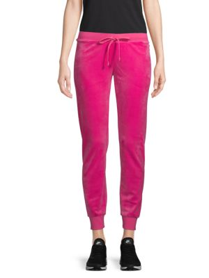 Velour Zuma Pants by Juicy Couture Black Label