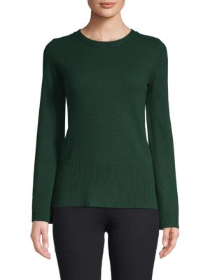 Flared Sleeve Cashmere Top by Qi New York