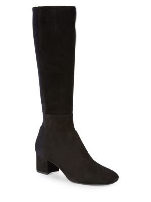 Janie Suede Dress Boots by Aquatalia