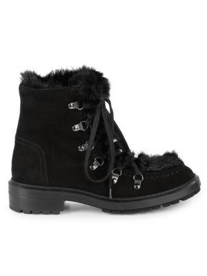 Lea Faux Fur Hiking Boots by Aquatalia