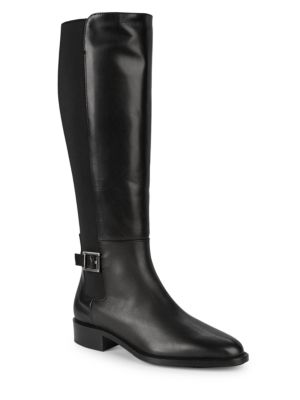 Natalee Leather Riding Boots by Aquatalia