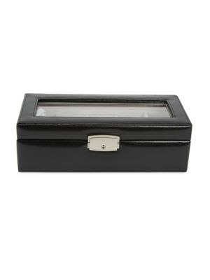 Leather Watch Box by Royce New York
