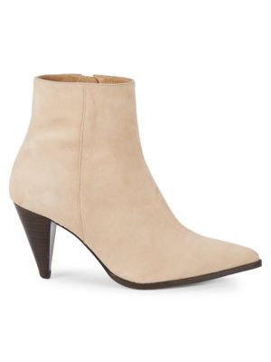 Hastar Suede Booties by Pure Navy