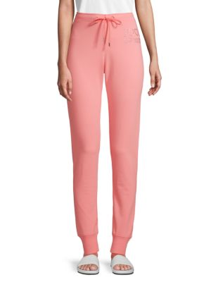Classic Drawstring Pants by Love Moschino