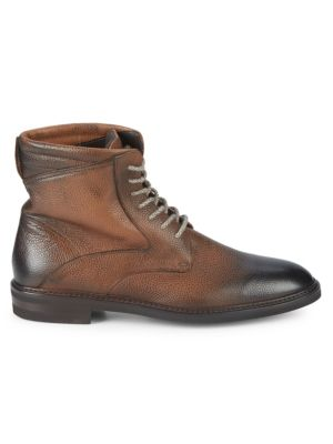 Baby Rice Ambra Leather Ankle Boots by Nettleton