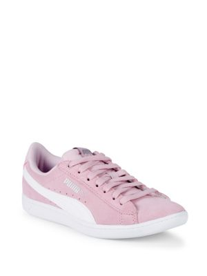 Vikky Leather Low Top Sneakers by Puma