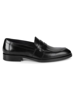 Devries Leather Penny Loafers by To Boot New York