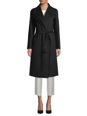 Elliot Wrap Coat by T Tahari