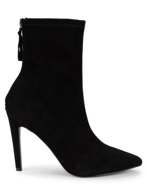 Amelia Embellished Suede Booties by Ava & Aiden