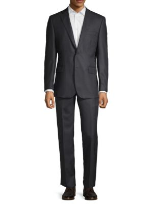 Classic Wool Suit by Saks Fifth Avenue Made In Italy