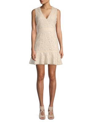 Onella Lace Cotton A Line Dress by Alice + Olivia
