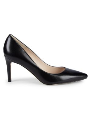 Florette Leather High Heel Pumps by L.K. Bennett