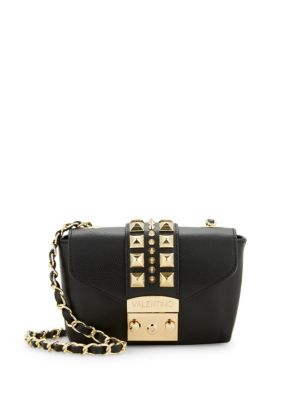 Paulette Studded Leather Crossbody Bag by Valentino By Mario Valentino