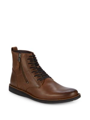 Leather Ankle Boots by John Varvatos Star U.S.A.