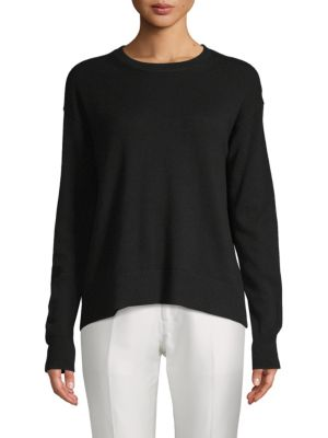 Boxy Wool & Cashmere Pullover by Vince