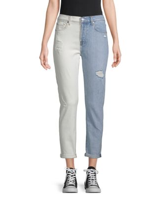 Josefina Two Tone Jeans by 7 For All Mankind