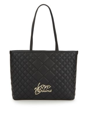 Love Quilted Tote by Love Moschino