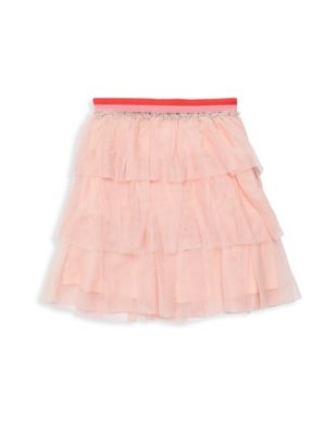 Girl's Tiered Ruffle Mesh Skirt by Bcb Girls