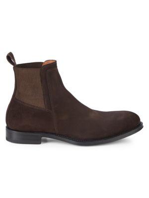 Varick Suede Chelsea Boots by Aquatalia