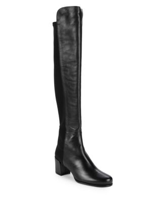 Stretch Back Over The Knee Boots by Stuart Weitzman