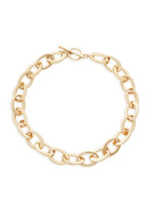 Oval Link Necklace by Kenneth Jay Lane