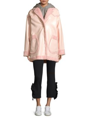 Reversible Faux Shearling Coat by Opening Ceremony
