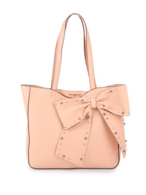 Embellished Bow Tote by Karl Lagerfeld Paris