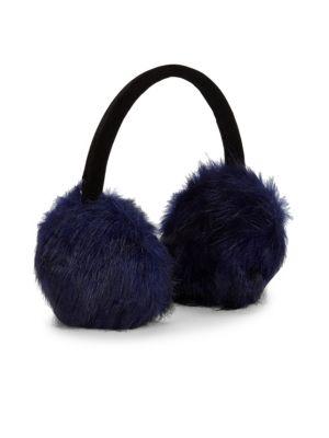 Velvet Band Faux Fur Ear Muffs by Renvy