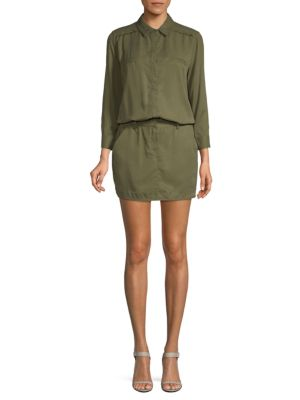 Long Sleeve Mini Dress by Etienne Marcel