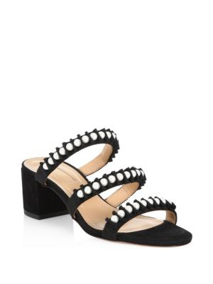 Love Story Leather Sandals by Aquazzura