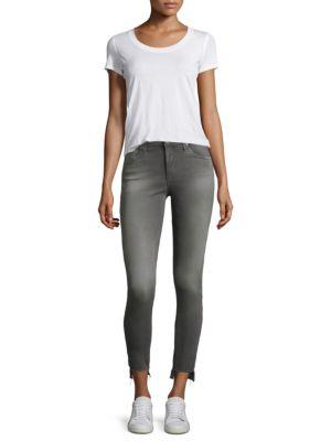 Farrah Step Hem Skinny Jeans by Ag Jeans