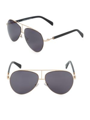 59 Mm Aviator Sunglasses by Balmain