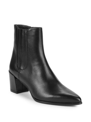 Basis Suede Ankle Boots by Stuart Weitzman