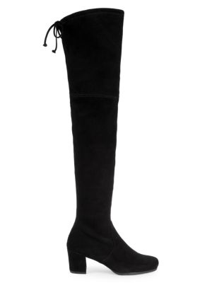 Hinterland Over The Knee Suede Boots by Stuart Weitzman