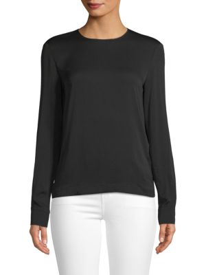 Classic Long Sleeve Top by Max Mara